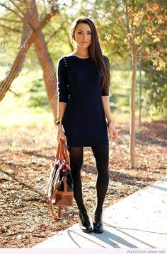 Hapa Time simple navy dress