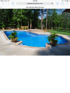 Having a pool sounds awesome especially if you are working with the best backyard pool landscaping ideas there is. How you design a proper backyard with a pool matters. Backyard Pool Landscaping, Backyard Playground, Swimming Pools Backyard, Swimming Pool Designs, Landscaping Tips, Beach Entry Pool, Pool Shapes, Beautiful Pools, Dream Pools