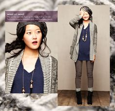 everything about this outfit is perfect... such a cute winter look.