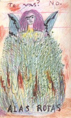 Alas rotas (Frida Kahlo)