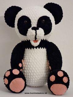 Free crochet pattern Panda - dolphin baby (by Tvorim s laskou) Crochet Toys, Free Crochet, Crochet Rug Patterns, Amigurumi Toys, Panda, Mickey Mouse, Teddy Bear, Disney Characters, Baby
