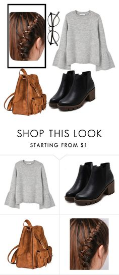 """""""Untitled #353"""" by whitelips-paleface96 ❤ liked on Polyvore featuring MANGO and Yves Saint Laurent"""