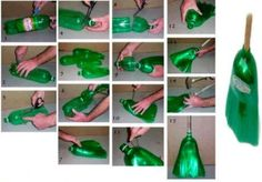 Make a Broom? - 20 Fun and Creative Crafts with Plastic Soda Bottles