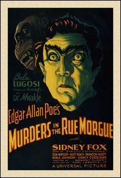Bela Lugosi in Edgar Allan Poe's Murders in the Rue Morgue