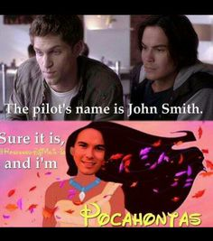Hahaha! Oh Caleb:) I totally thought about this when I watched the episode