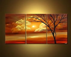 acrylic paint scenery for beginners - Google Search