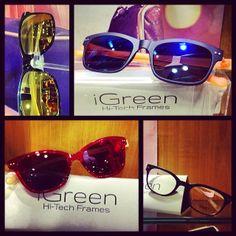 Ήρθαν τα νέα αγαπημένα μας #γυαλιά #iGreen!  #igreenized #sunshine #sun #spring #summer #glasses #new #love #style #athens #opticametaxas