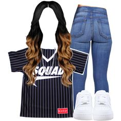 Klarity by kiaratee on Polyvore featuring polyvore fashion style NIKE BERRICLE