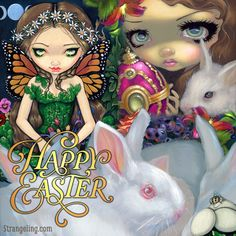 Happy Easter from Jasmine & the team at Strangeling.com!
