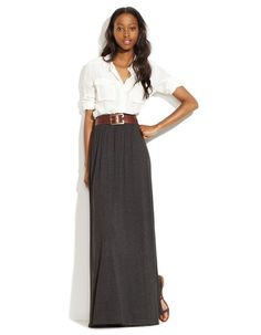 Great looking maxi skirt