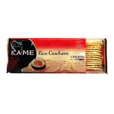 Ka-Me Rice Crackers, Original, 3.5-Ounce Packages (Pack of 12): Amazon.com: Grocery & Gourmet Food