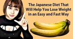 This Japanese Diet Will Help You Lose Weight In An Easy And Fast Way!