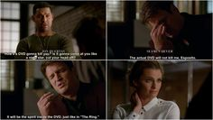 Every face in this scene is perfect. The mock exasperation. imaginative sir on the show lol Best Tv Shows, Best Shows Ever, Movies And Tv Shows, Favorite Tv Shows, Castle Series, Castle Tv Shows, Castle Abc, Beckett Quotes, Richard Castle