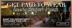 Own your virtual designer mall. Start making real money today with GWT- Global Wealth Trade Corporation. Be a luxury consultant, travel the world. VISIT Link now to Join this amazing company.