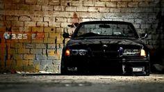 BMW E36 M3 slammed