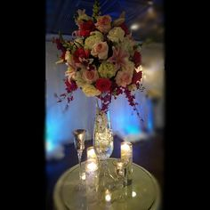 www.flowersbybrian.com Pink Centerpieces, Tablescapes, Table Decorations, Furniture, Home Decor, Decoration Home, Room Decor, Table Scapes, Home Furnishings