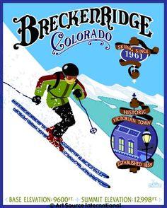 Breckenridge, Colorado by Steve Lowtwait