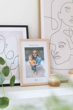 Affiche photo personnalisée pour la fête des mères Illustrations, Day, Frame, Photos, Home Decor, Cadre Photo, Happy Name Day, Wall Art, Event Posters