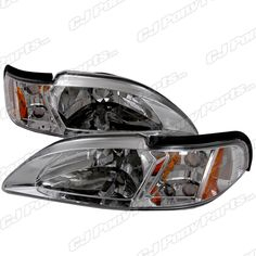 Mustang Headlights One-Piece Ultra Clear Kit Mustang Accessories, Ford Mustang, Pony, One Piece, Kit, Pony Horse, Ford Mustangs, Ponies