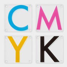 CMYK Coasters | MoMAstore.org
