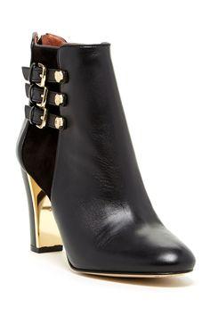 Louise et Cie Footwear | Albach Genuine Leather Bootie | Nordstrom Rack