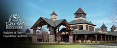 Equestrian Barns | ... -built horse barns, riding arenas, paddocks, and other buildings