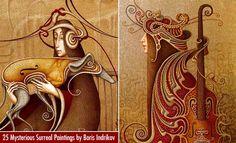 25 Mysterious Surreal Oil Paintings by Russian Artist Boris Indrikov. Follow us www.pinterest.com/webneel