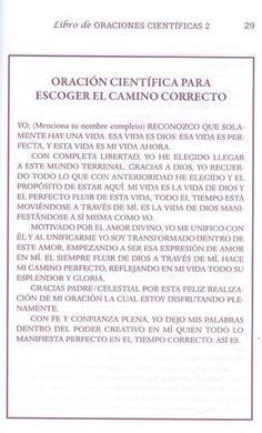 ORACION CIENTIFICA PARA ESCOGER EL CAMINO CORECTO - CONEXION UNIVERSAL