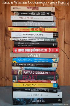 Fall & Winter Cookbook Roundup – 2013 Part 2. + 3 cookbooks giveaway (ends 12/28/13) - www.eatthelove.com