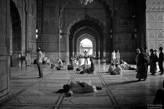Black and White Photos of India