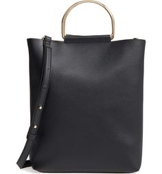 Topshop Faux Leather Tote ($45)
