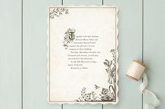 Story Book Wedding Invitations