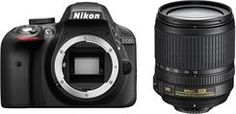 Lustrzanka Nikon D3300 Czarny + 18-105mm - zdjęcie 1