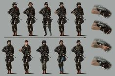 Tom Clancy's Rainbow Six Siege - Ash's Gear & Armor