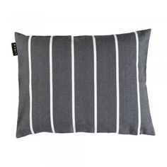 Linum Dark Charcoal Grey Rufus Cushion - Linum from eggcup & blanket UK