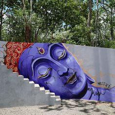 by madsteez - Cala Luna, Costa Rica (LP) |  urban art  | grafite | mural | graffiti | Street art | art | MINI | Miniac | Mini lifestyle | Schomp Mini