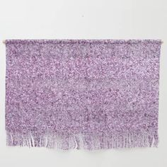 Lavender Glitter Wall Hanging