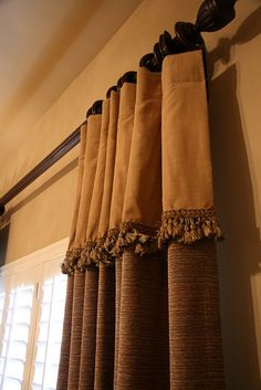 A Way To Add Length And Color Curtain