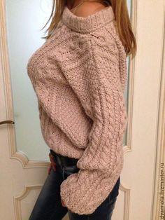 Купить свитер с косами - свитер с косами, женский свитшот, рубан, family look, свитер из мериноса
