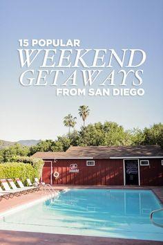 15 Popular Weekend Trips from San Diego
