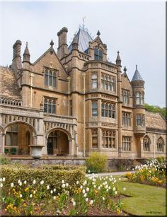Tyntesfield - Victorian Gothic Revival country house and estate near Wraxall - North Somerset, England Revival Architecture, Victorian Architecture, Beautiful Architecture, Beautiful Buildings, Beautiful Homes, Architecture Design, Beautiful Places, Victorian Buildings, Gothic House