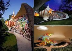 The nautilus house, designed by mexican architect Javier Senosiain
