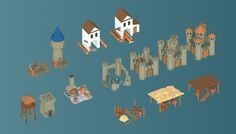 Low Poly Medieval Buildings Set has just been added to GameDev Market! Check it out: http://ift.tt/20bBJ98 #gamedev #indiedev