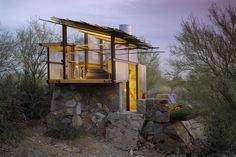 #Architecture Taliesin Shelters at the Frank Lloyd Wright School of Architecture – Scottsdale, Arizona