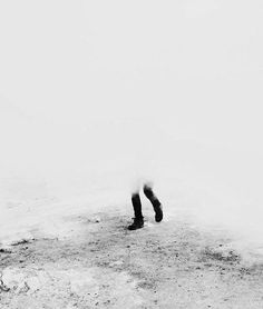'the fog covered everything; the boys wandered in circles through the whiteness'