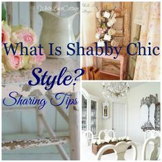 DIY Shabby Chic Style- Decorating Tips And Decor Tutorials !