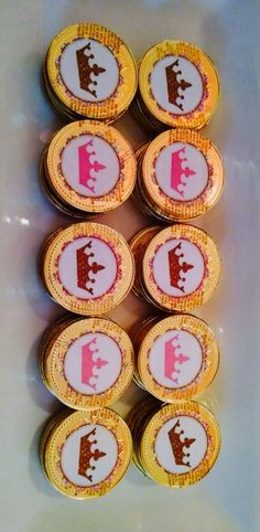 Monedas de chocolate personalizadas Sweet Sixteen
