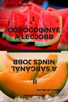 Melyik a jobb? Watermelon, Fruit, Food, Essen, Meals, Yemek, Eten