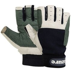 #Amara leather #sailing gloves #yachting gloves boat rope gloves cut finger large,  View more on the LINK: http://www.zeppy.io/product/gb/2/300726839220/
