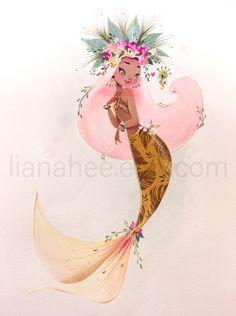 Mermaid Artwork, Mermaid Drawings, Art Drawings, Mermaid Paintings, Horse Drawings, Drawing Art, Fantasy Mermaids, Mermaids And Mermen, Real Mermaids